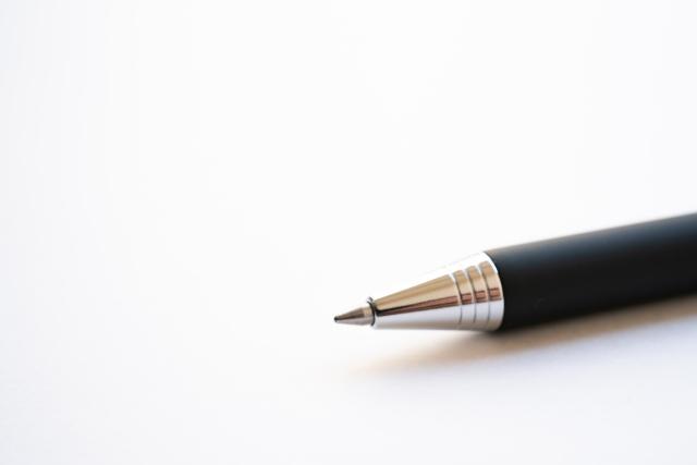 ボールペンの復活方法