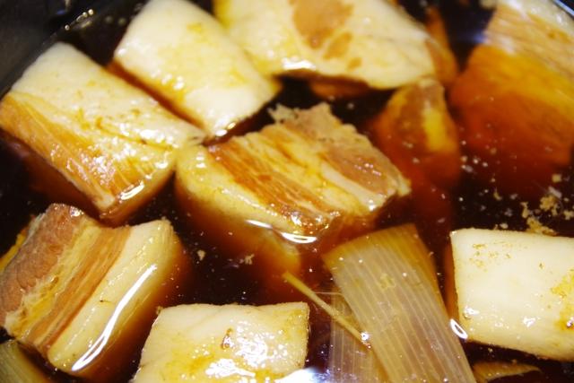 角煮の味が薄い